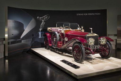 March: The first Rolls-Royce exhibition at the BMW Group Museum opens for visitors today. Strive for Perfection celebrates ten years of Rolls-Royce Motor Cars – and the 150th anniversary of Sir Henry Royce's birth.