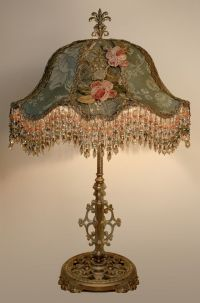 Victorian beaded lamp | 1008 -Castles, Palaces, and their ...