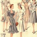Late 30s fashions fashion inspirations 1930 s and 40 s pinterest