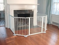 Extra Wide Fireplace Safety Gate - 10 Feet Wide ...