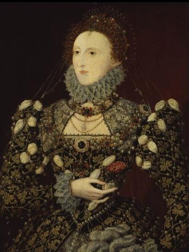 Elizabeth I, associated with Nicholas Hilliard, c1575 © National Portrait Gallery, London