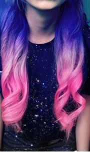 mixed colors hair color