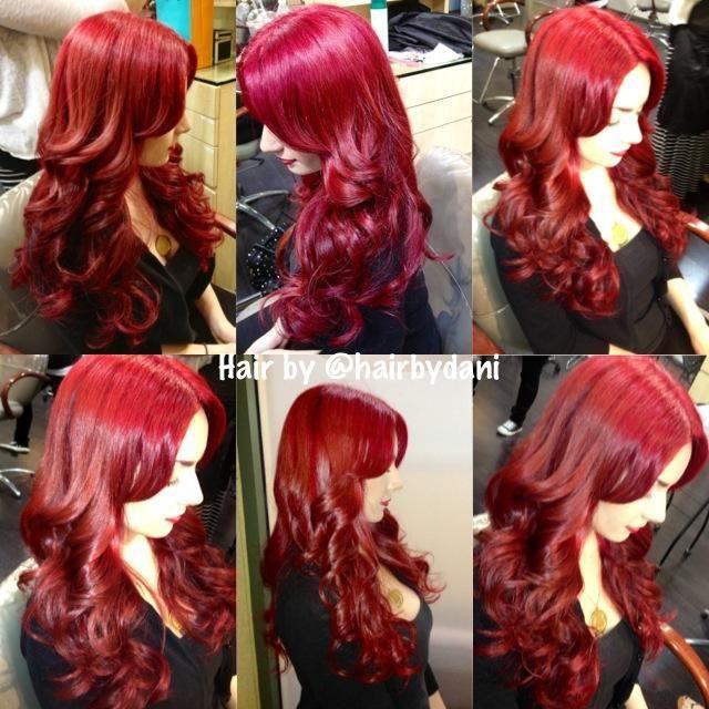 Pravana Vivids Red Hair Color
