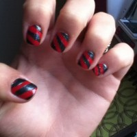 Nail Designs With Tape
