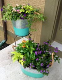 Front porch planters   Porch Ideas   Pinterest