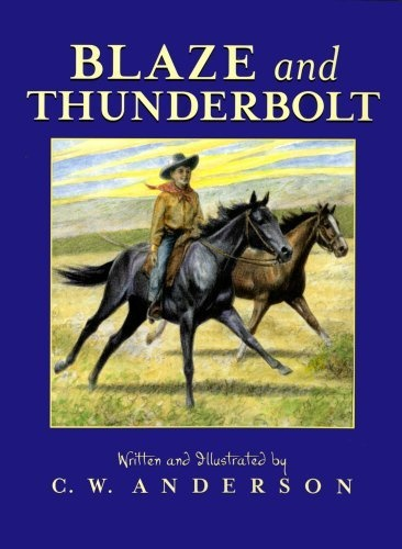 Blaze and Thunderbolt by C.W. Anderson, http://www.amazon.com/dp/0689717121/ref=cm_sw_r_pi_dp_Pszjrb17WGTRA