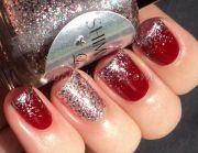pretty idea christmas nails