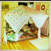 Living room tent | Makes me smile | Pinterest