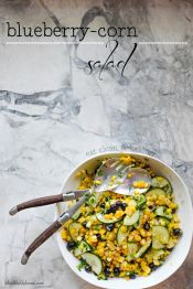 Blueberry Corn Salad - A Healthy Life For Me