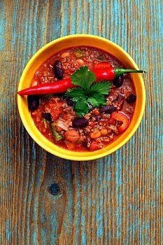 Turkey Chili - low glycemic index