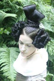 amazing 1830's hairstyle historical