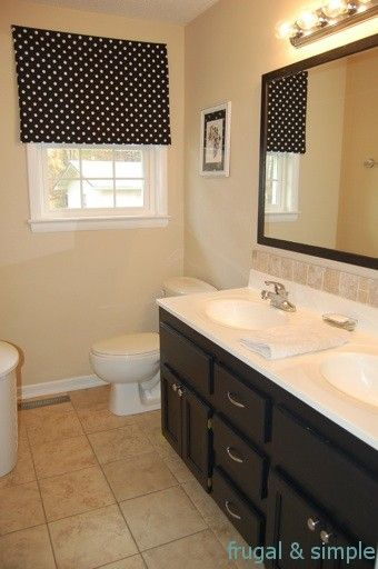 frugal and simple bathroom makeover  Home Sweet Home