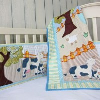 farm crib bedding