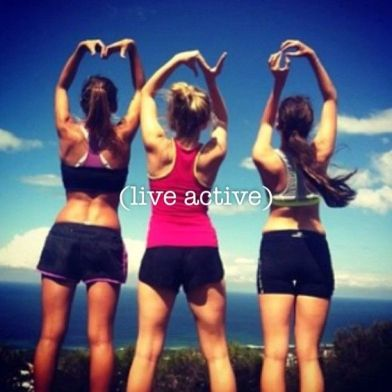 LIVE ACTIVE every single day xx