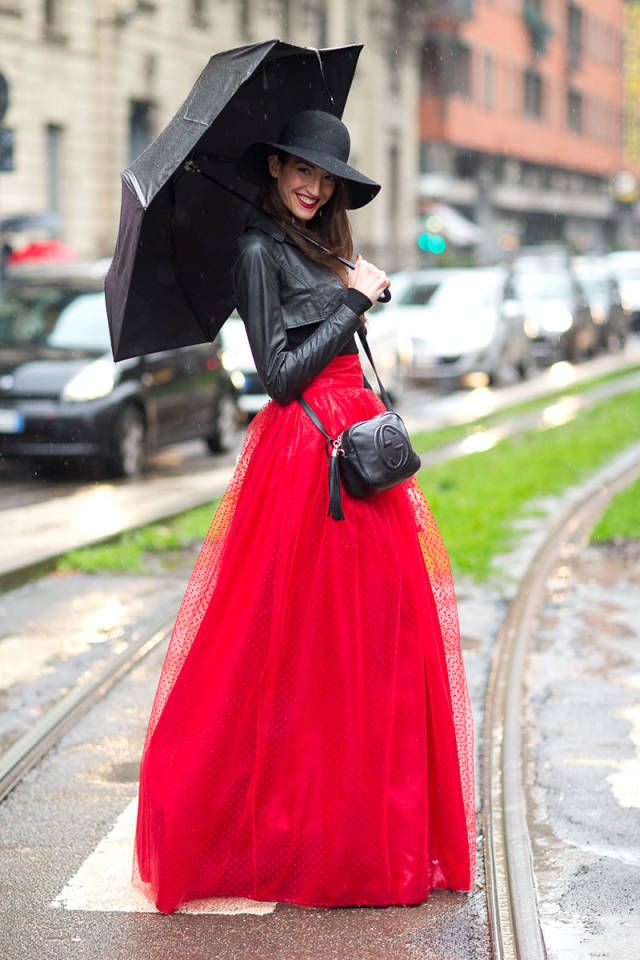 The street style is in from Day 1 of Milan Fashion Week! See all the best looks here.