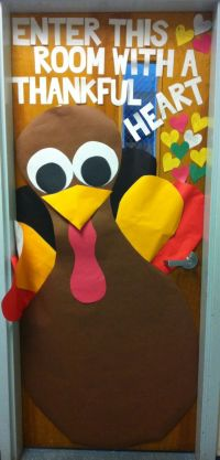 1000+ images about Office door on Pinterest | Thanksgiving ...