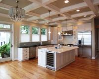 kitchen coffered ceiling | My Dream House | Pinterest