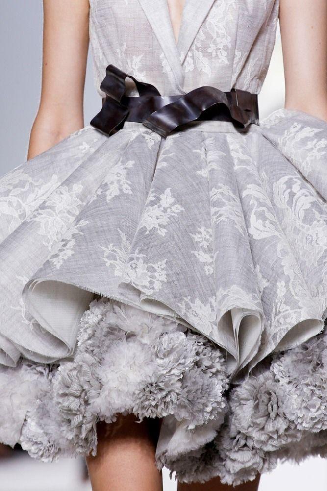 Details @ Giambattista Valli Fall 2013 Couture