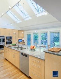 vaulted ceiling with skylights | Rooms with Vaulted ...