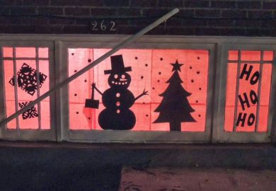 Christmas Window Silhouettes