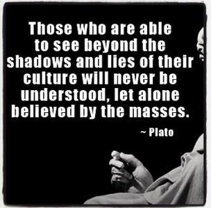 Plato quote being different