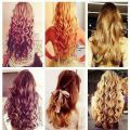 Love all these kinda of long curly hair i want blonde with brown