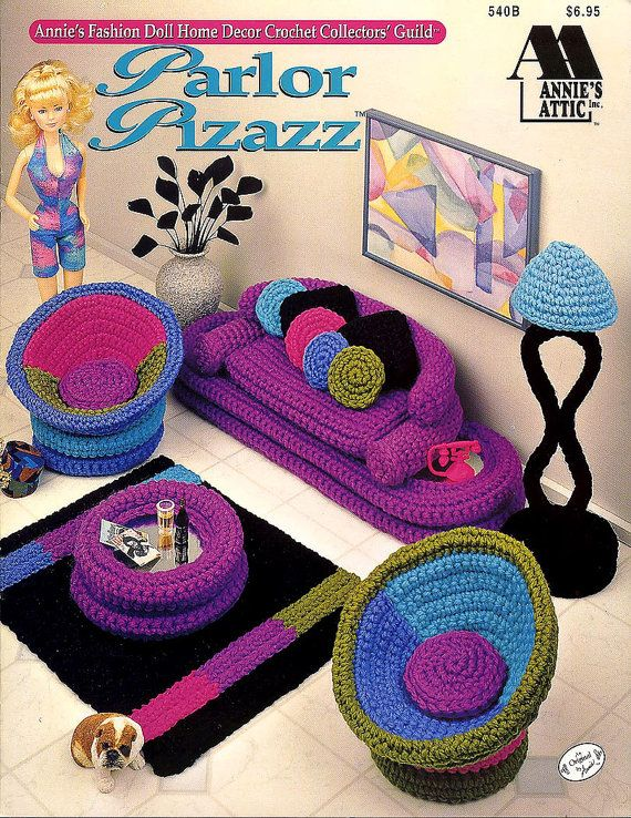 Crochet Barbie Doll furniture