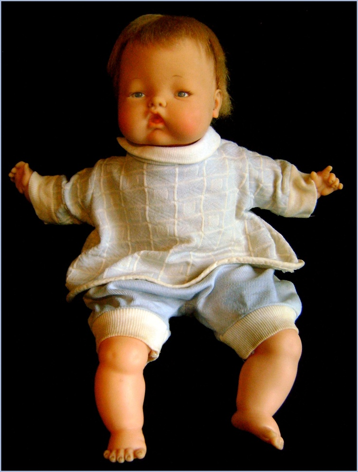 Newborn Thumbelina Doll 1960