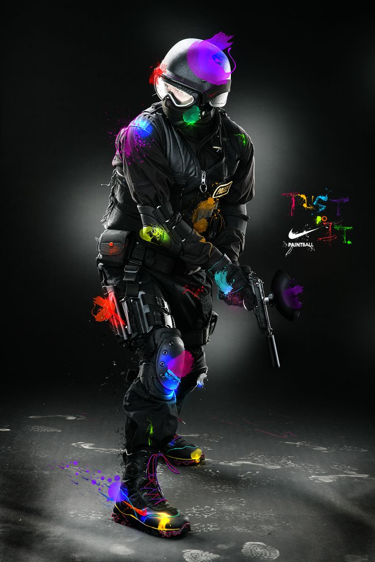 NIKE Paintball...cool!