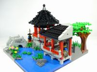 lego creations - Japanese Garden | Lego | Pinterest