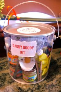 Daddy Doody Kit | Jungle Safari Baby Shower | Pinterest