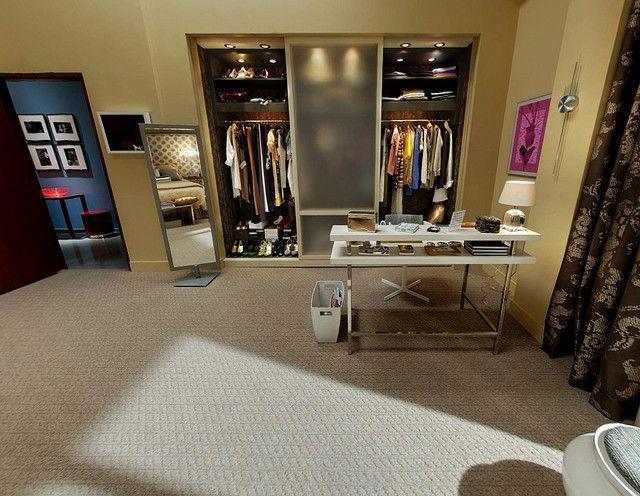 Serena's closet Gossip Girl set