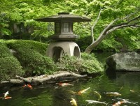 Japanese Garden. Koi Pond. | For the Garden | Pinterest