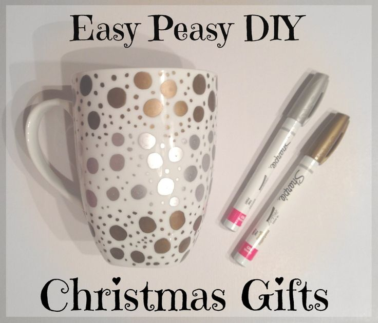 How To Make Easy Peasy DIY Christmas Gifts