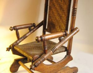 Childs Vintage Rocking Chair