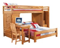 Bunk Bed with Chest and Desk | Boys bedroom ideas | Pinterest