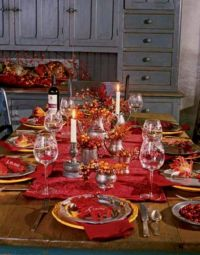Thanksgiving table setting | Tablescapes | Pinterest