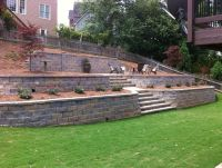 retaining wall | Dream Backyard | Pinterest