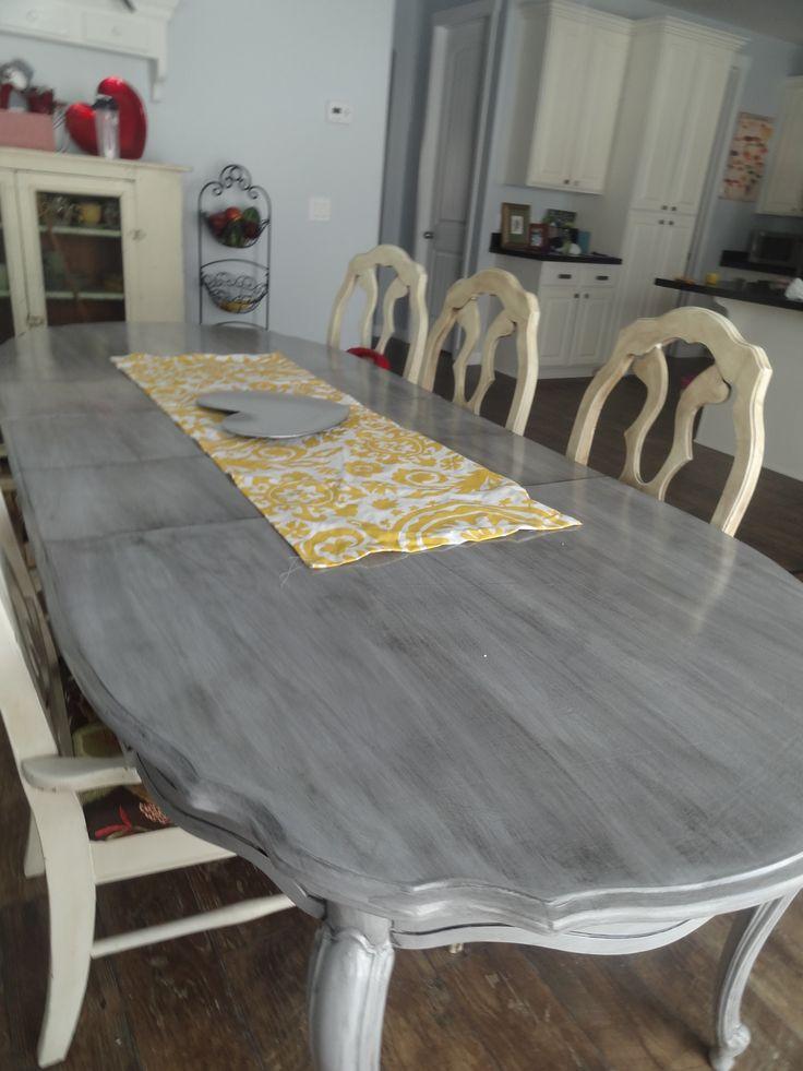 Refinishing my Kitchen Table  home decor  Pinterest