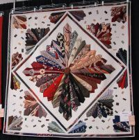 Necktie quilt | Flickr - Photo Sharing! | Super Fun Quilts ...