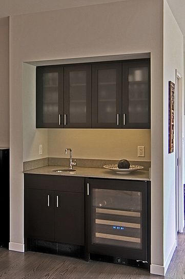 contemporary wet bar 2  Things We Havent Built But