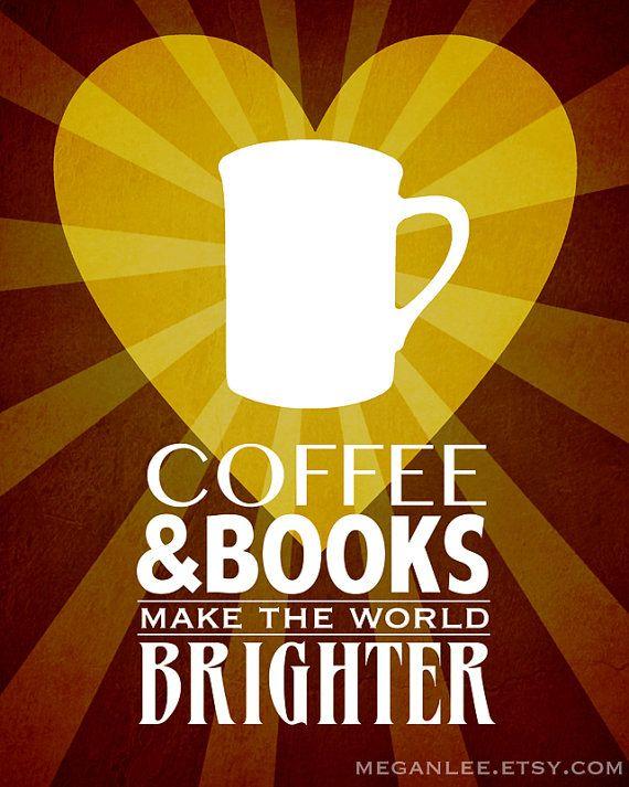 <3 coffee and books ...