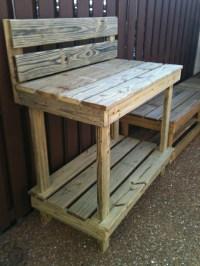 Outdoor Garden Work Benches Innovation - pixelmari.com