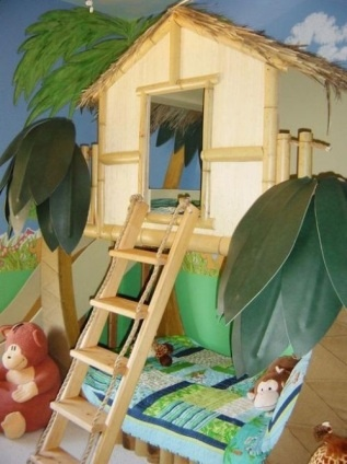 Kids fort, kids room idea