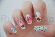 cute birthday nails. nails