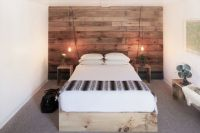 11 Wood-Paneled Walls as Headboards by