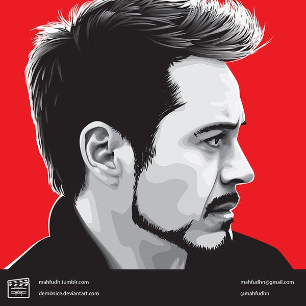 Robert Downey Jr by dem0nice.deviantart.com