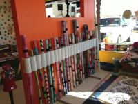 Backdrop holder....pvc pipe on wood plank   Photography ...
