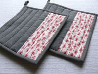 Simple DIY Pot Holders | Sewing | Pinterest