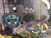 Halloween themed fairy garden by Amie